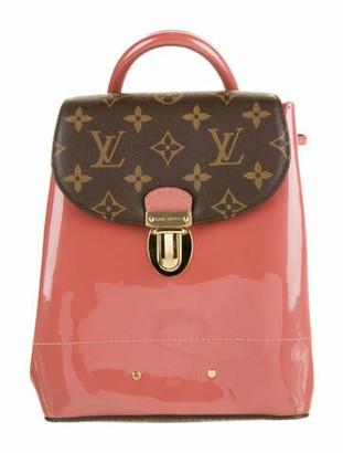 Louis Vuitton 2018 Monogram Vernis Hot Springs Backpack Pink