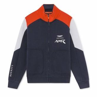 Hackett London Hackett Boy's Amr Moto Flzp Y Sweater