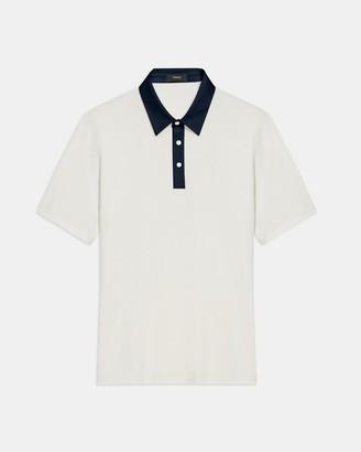 Theory Tech Polo Shirt in Function Pique