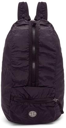 Stone Island Logo-patch Nylon Metal-shell Backpack - Mens - Black