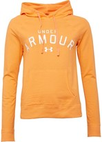 Under Armour Womens Pretty Gritty Blackout Hoody Orange