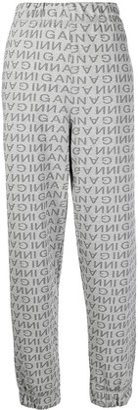 Ganni Jacquard Logo Track Trousers