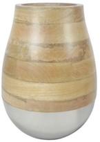 "Threshold 9.2"" Gold Metallic Vase"