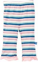 Kickee Pants Print Ruffle Pant (Baby & Big Girls)