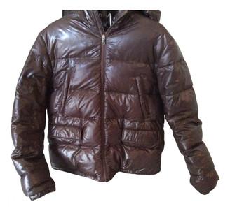 Prada Brown Synthetic Coats