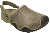 Crocs Men's Swiftwater Leather Camp Clog