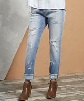 Queen Destroyed Paris Skinny Jeans