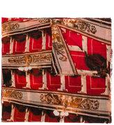 Faliero Sarti La Scala A Milano printed scarf