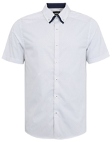 George Spotted Slim Fit Short Sleeve Shirt