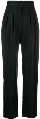 MATÉRIEL High-Waist Straight-Leg Trousers
