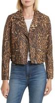 Veda Women's Safari Leather Jacket