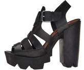 Mia Womens Luka Open Toe Casual Platform Sandals.