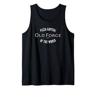 Old Forge Pennsylvania Pizza Capital of the World Tank Top
