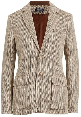 Polo Ralph Lauren Herringbone Single-Breasted Blazer