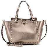 Valentino Garavani Rockstud Metallic Leather Tote