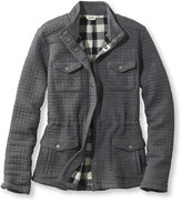 L.L. Bean Quilted Knit Cargo Jacket