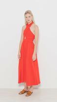 Mara Hoffman Knot Front Dress