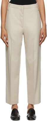 Arch The Beige Wool Trousers