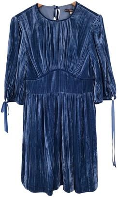 ALEXACHUNG Alexa Chung Blue Viscose Dresses