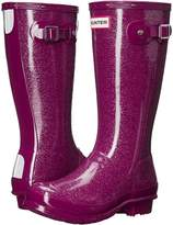 Hunter Original Glitter Rain Boots Kids Shoes
