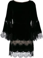 Alice + Olivia Alice+Olivia lace trim dress