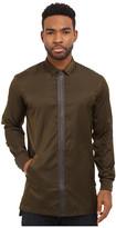 Publish Carato - Coated Nylon Woven Long Sleeve Zip-Up