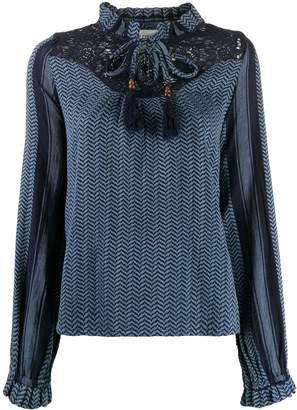 Cecilie Copenhagen Delphine tassel shirt