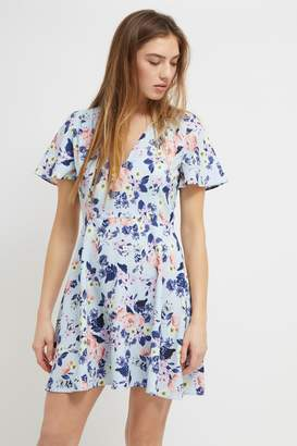 French Connenction Armoise Crepe Flippy Dress