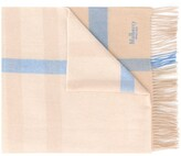 Mulberry checked scarf