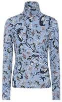 Erdem Kelly printed turtleneck