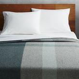 CB2 Faribault Plaid Full/Queen Blanket