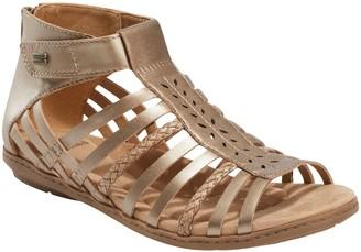 Earth Origins Leather Gladiator Sandals - Belle Bruna