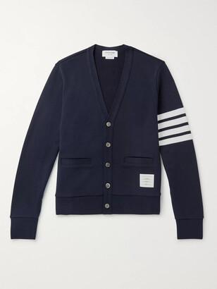 Thom Browne Slim-Fit Striped Cotton Cardigan