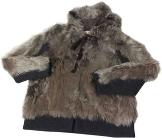 Marni Beige Shearling Jacket for Women