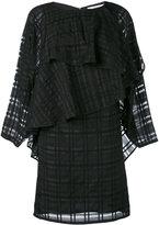 Chalayan cascade valance dress - women - Linen/Flax/Polyester/Rayon - M
