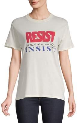 Monogram Resist Persist Insist T-Shirt
