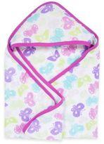 Miracle Blanket MiracleWare Butterflies Muslin Hooded Towel