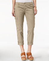 Tommy Hilfiger Cargo Roll-Tab Capri Pants, Only at Macy's