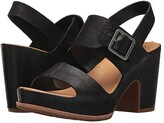 Kork-Ease Ease San Carlos (Black Full Grain Leather) High Heels