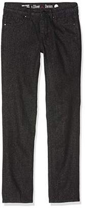 S'Oliver Women's 14.911.71.5771 Straight Jeans, (Grey/Black Denim Stretch 99z1), No (size: 34/L30)