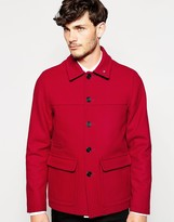 Peter Werth Made in London Wool Donkey Jacket
