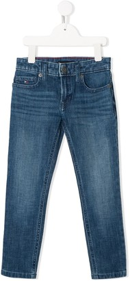 Tommy Hilfiger Junior mid-rise skinny jeans