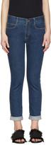 Stella McCartney Indigo Skinny Boyfriend Jeans