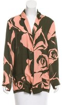 Emilio Pucci Silk Long Sleeve Top