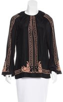 Clover Canyon Embroidered Peasant Blouse