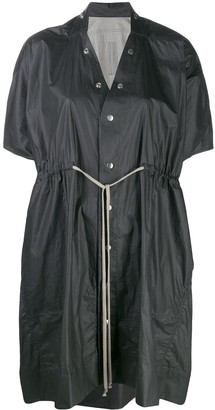Rick Owens Short-Sleeved Raincoat