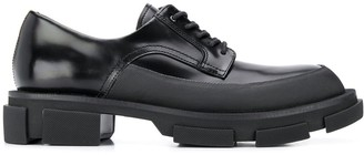 both Gao chunky-heel derby shoes
