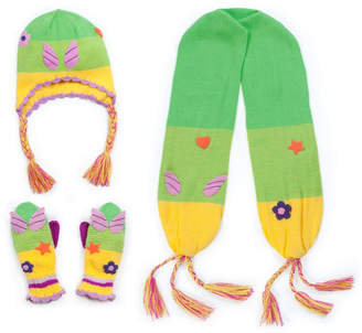 Kidorable Little and Big Girl Fairy Knitwear Set