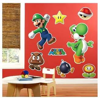 BuySeasons Super Mario Party Wall Decal