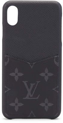 Louis Vuitton iPhone Case Monogram Eclipse XS MAX Black